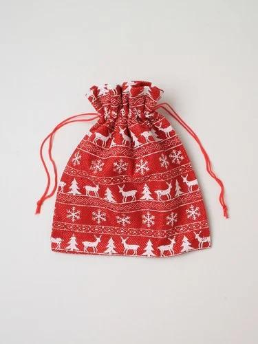 Festive Drawstring Bag