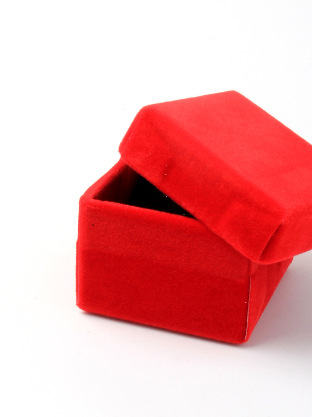 Velour Covered Boxes