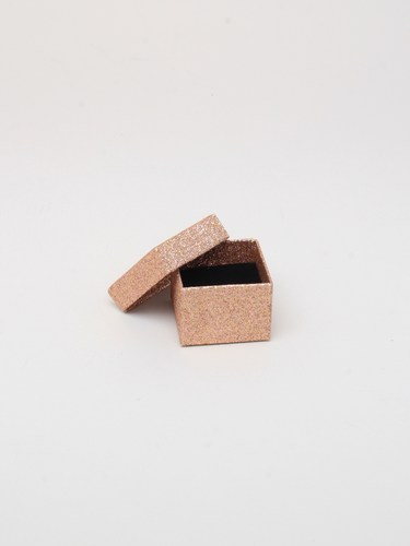 Rose Gold Glitter Wholesale Gift Box