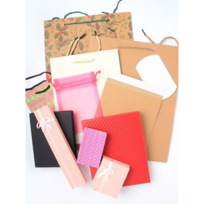 Clearance / Bag of 12 Assorted gift packaging products