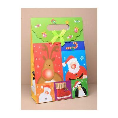 Size: 27x19x9cm Christmas theme gift box.