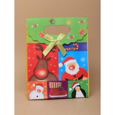 Size: 16x12x6cm Christmas theme gift box.