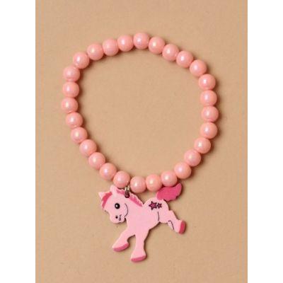 © Childrens bracelet with Pony charm.
