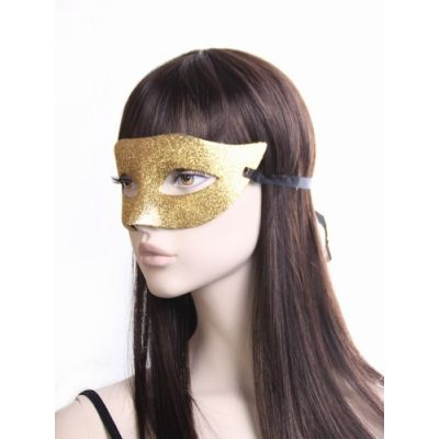 Glitter masquerade mask.