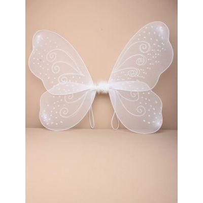 White net fairy wings 51x44cm