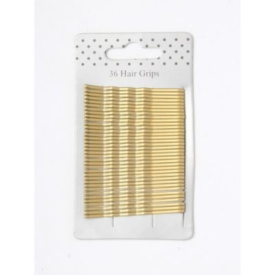Card of 36 Blonde kirby grips. 55mm