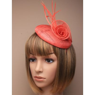 © Style Lily, Beret cap fascinator on an aliceband.