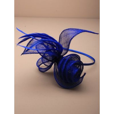 © Style Marie, Looped sinamay fascinator on an aliceband.