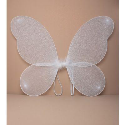 White net fairy wings 50x40cm