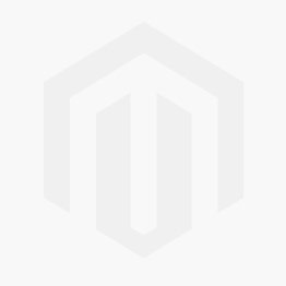 Christmas Santa Hat in blue with white trim.