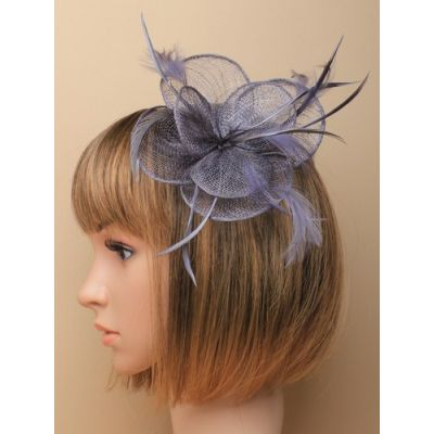 © Style Sophia, sinamay fascinator on a clip and pin