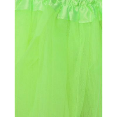 Green Child size net tutu Waistband 15-28