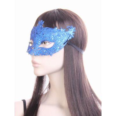 Glitter filligree masquerade mask.