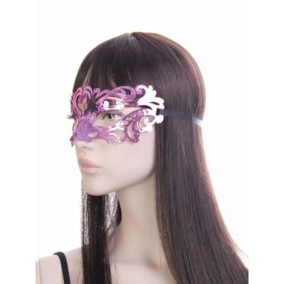 Mirror finish masquerade mask