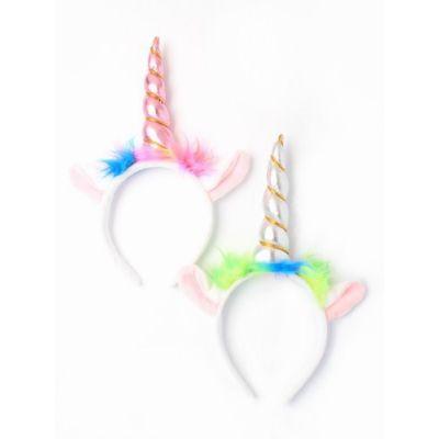 Unicorn horn and ears aliceband
