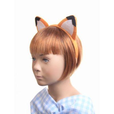 Fox ears and tail dress up set.