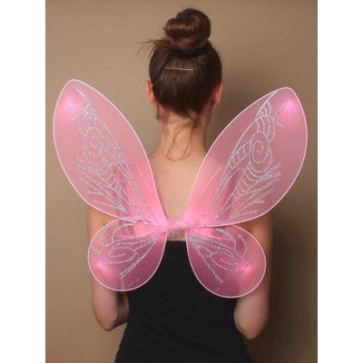 Pointed net fairy wings. 45x40cm