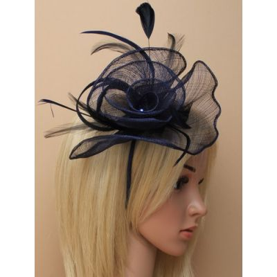 © Style Libby, sinamay fascinator on an aliceband
