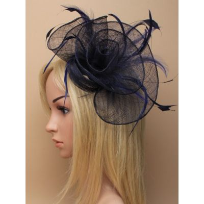 © Style Tiffany, sinamay fascinator on an 8cm clip