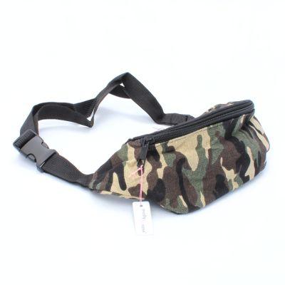 Camo fabric bum bag