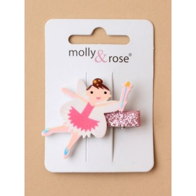 Fairy motif beak clip 3cm
