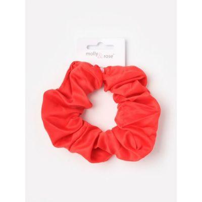 Regular - Satin scrunchie in School colours. Dia.11cm