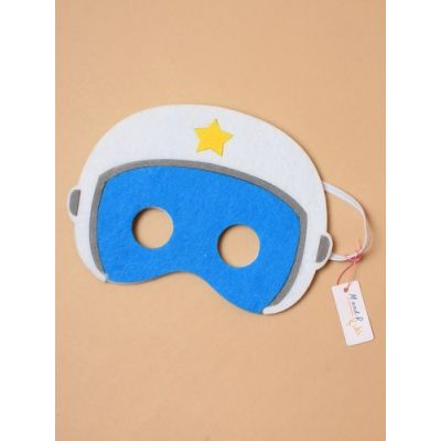 Children's felt space explorer mask. In 6 colours.