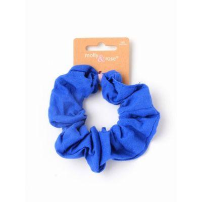 Regular - 100% Cotton scrunchie in School colours. Dia.10cm