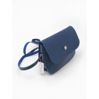 Handbag with long cross the body strap 16x12x4cm