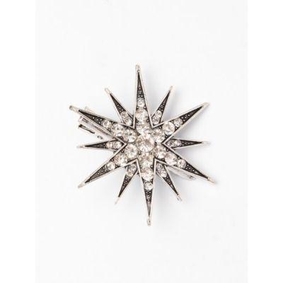 Crystal star hair clip 5.5cm