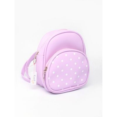 Pastel coloured child size back pack .18x15x9cm