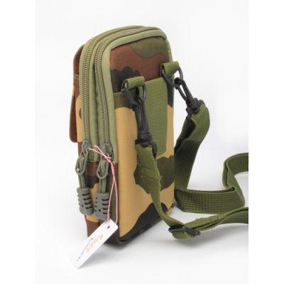 Camouflage festival bag. 18x10x4cm.