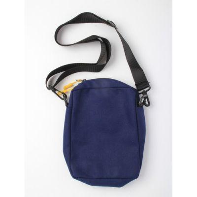 Canvas bag with long strap. 20x15x4cm.