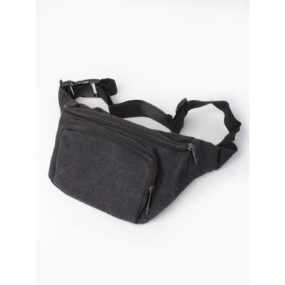 Canvas fabric bum bag