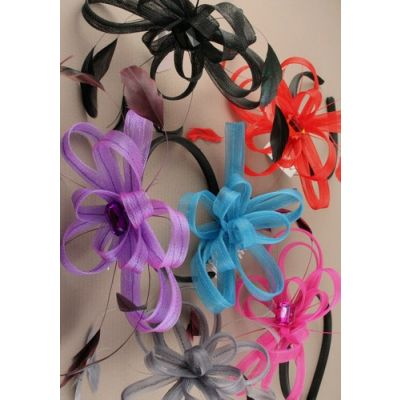 © Style Maisy, looped fascinator on an aliceband