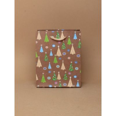 Size: 15x12x6cm Christmas tree gift bag.