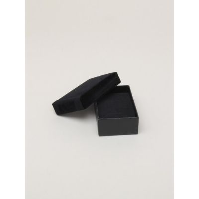 Size: 8x5x2.5cm Black gift box with velour lid.