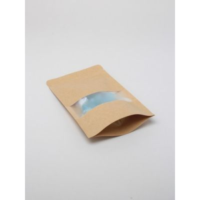 Size: 20x12x4cm Lined brown paper food grade bag