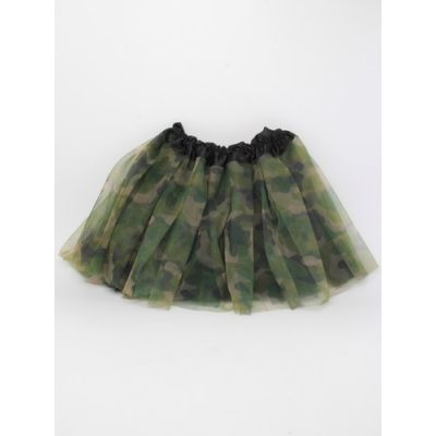 Child size camouflage tutu and matching bandeau set  Waistband: 15-28