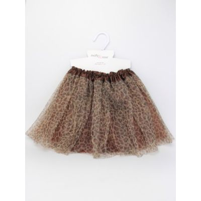 Child size leopard print tutu  Waistband : 15-28