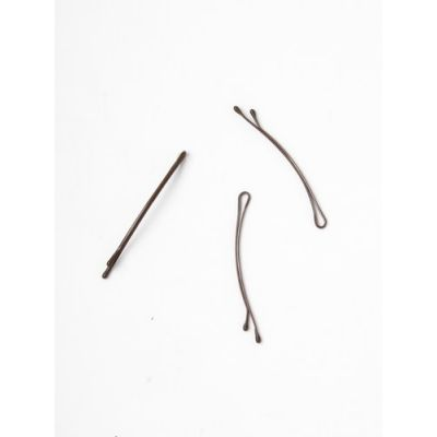 Card of 36 thin Curved brown kirby grips. 55mm.