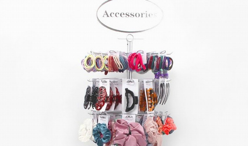 Wholesale display stand with hair accessories