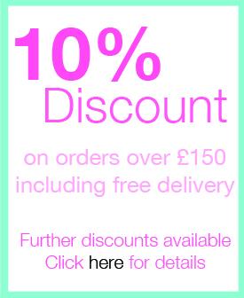 Discount for orders over £150 ex VAT